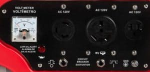 Panel of the A-iPower AP4000