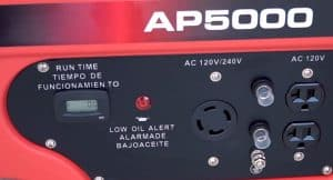 Panel of the A-iPower AP5000