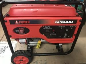 The A-iPower AP5000 in use