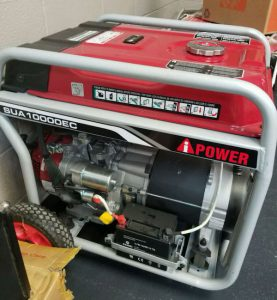 The A-iPower SUA10000EC in use