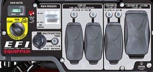 Panel of the A-iPower SUA13000EFI