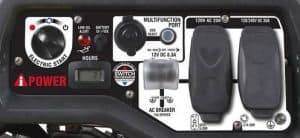 Panel of the A-iPower SUA6000ED