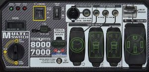 Panel of the A-iPower SUA8000iSF