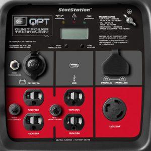 Panel of the Briggs & Stratton P3000 PowerSmart