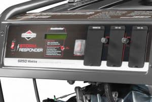 Panel of the Briggs & Stratton Storm Responder