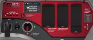 Panel of the Briggs & Stratton Q6500 QuietPower