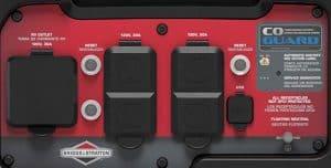 Panel of the Briggs & Stratton P4500 PowerSmart
