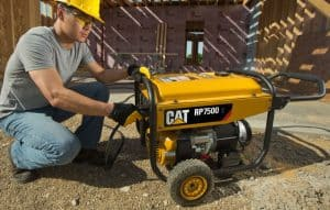 The Cat RP7500 E in use