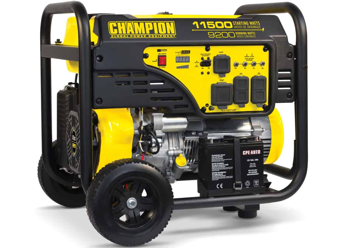 Champion 100110 9200 11500w Portable Generator User Review Deals