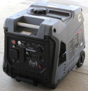 The Cummins Onan P4500i in use