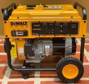 The Dewalt DXGNR6500 in use