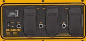 Panel of the Dewalt DXGNR4000