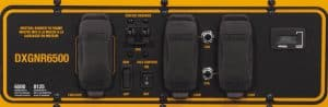 Panel of the Dewalt DXGNR6500