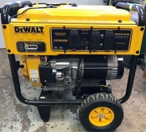 The Dewalt DXGNR8000 in use