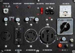 Panel of the DuroMax XP12000E