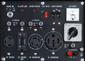 Panel of the DuroStar DS10000E