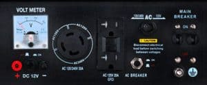 Panel of the DuroStar DS4400E