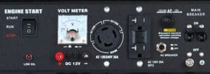 Panel of the DuroStar DS4850EH