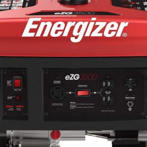 Panel of the Energizer eZG3500