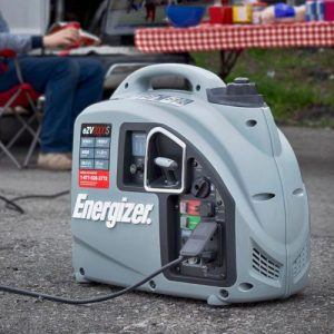The Energizer eZV2000S in use