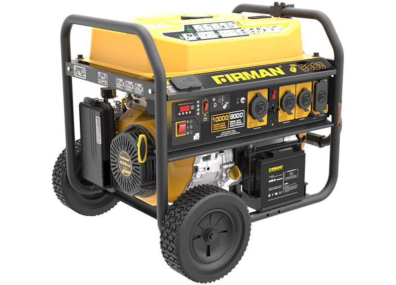 Firman P08004 8000 10000w Portable Generator Spec Review Deals
