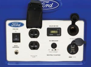 Panel of the Ford FG3050P
