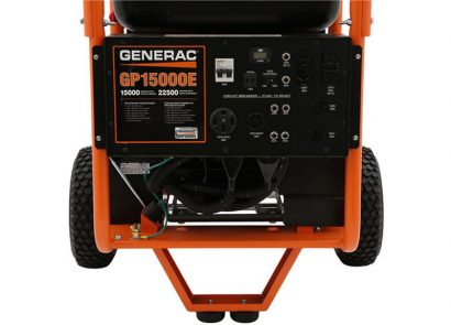 Picture 3 of the Generac GP15000E
