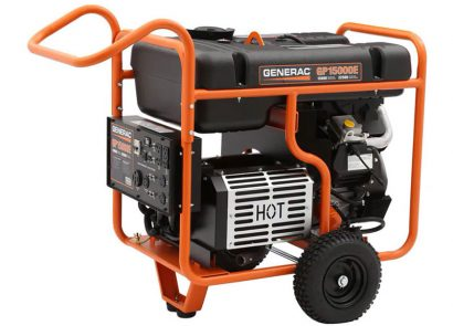 Picture 4 of the Generac GP15000E