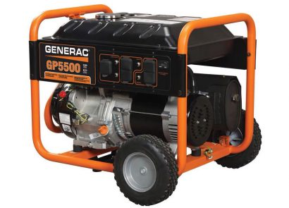 Picture 1 of the Generac GP5500