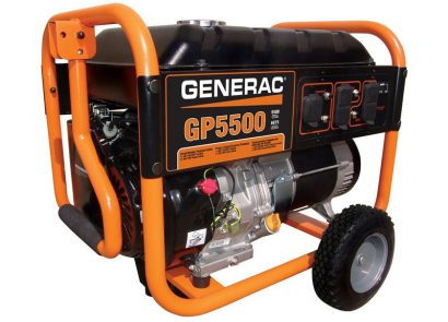 Picture 3 of the Generac GP5500