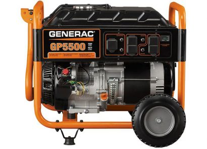 Picture 4 of the Generac GP5500