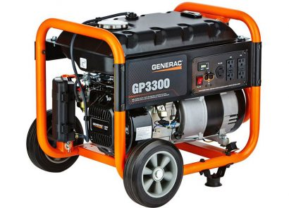 Picture 1 of the Generac GP3300