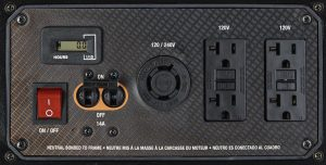 Panel of the Generac GP3300