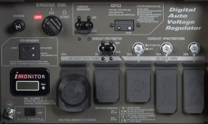 Panel of the Honda EB10000