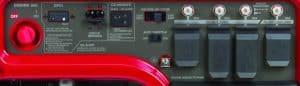 Panel of the Honda EB5000X