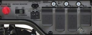 Panel of the Honda EG4000CL