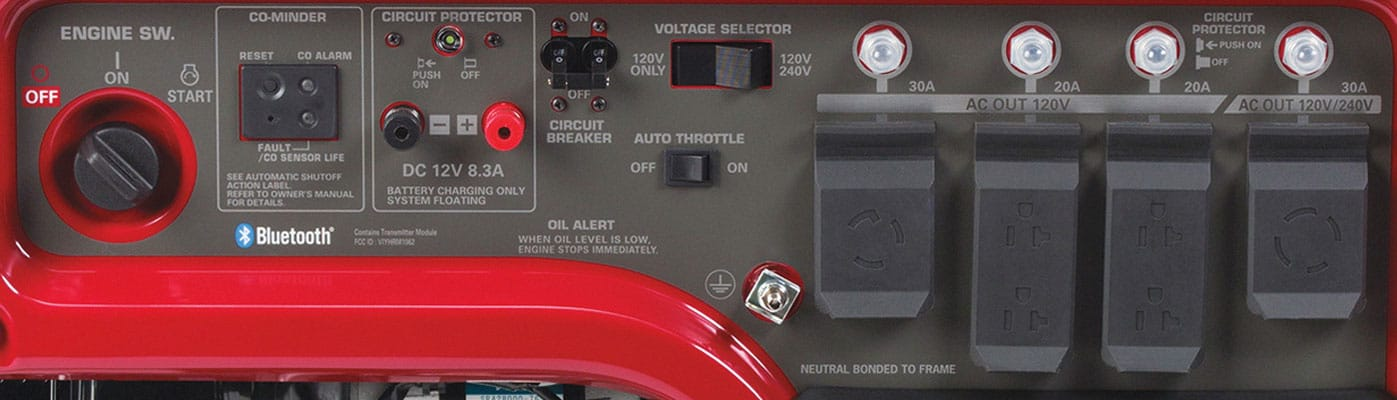 honda em5000s 4500  5000w portable generator  spec review  u0026 deals