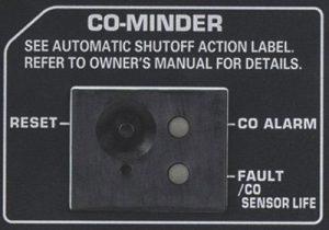CO Minder of the Honda EU2200i