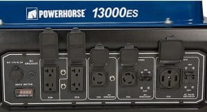 Panel of the Powerhorse 13000ES