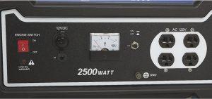 Panel of the Powerhorse 2500