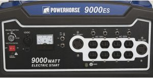 Panel of the Powerhorse 9000ES