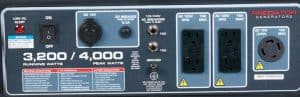 Panel of the Predator 4000