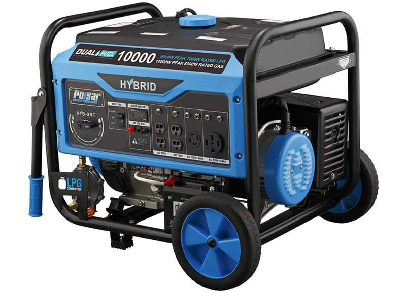 Pulsar Pg10000b16 10000w Dual Fuel Generator Spec Review Deals