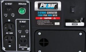 Panel of the Pulsar PG1202S