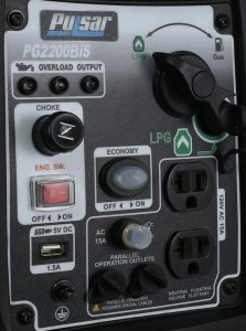 Panel of the Pulsar PG2200BiS