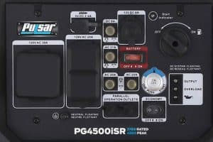 Panel of the Pulsar PG4500iSR