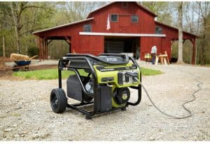 The Ryobi RY903600 in use