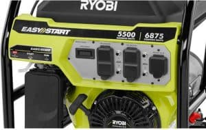 Panel of the Ryobi RY905500