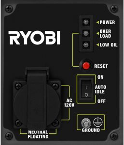 Panel of the Ryobi RYi1000