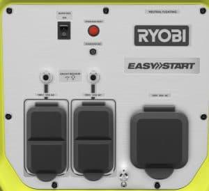 Panel of the Ryobi RYi4022X